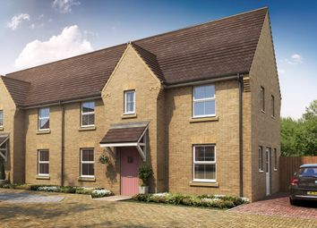 "Thumbnail 3 bedroom end terrace house for sale in ""Charnwood"" at Fen Street, Brooklands, Milton Keynes"