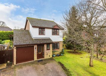 Thumbnail 3 bed detached house for sale in Wildcroft Drive, North Holmwood, Dorking