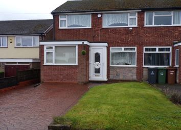 Thumbnail 3 bed semi-detached house to rent in Lowlands Avenue, Streetly, Sutton Coldfield