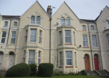 Thumbnail 1 bedroom flat to rent in Connaught Avenue, Mutley, Plymouth
