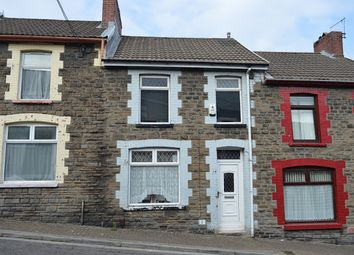 Thumbnail 3 bed terraced house for sale in Tower Street, Treforest, Pontypridd
