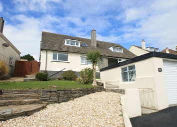 Thumbnail 3 bed semi-detached house for sale in St Stephens Road, Saltash, Cornwall