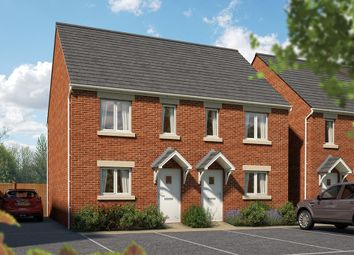 "Thumbnail 2 bed semi-detached house for sale in ""The Colwell"" at Centenary Way, Witney"
