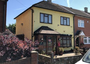 Thumbnail 2 bed end terrace house for sale in Russets Close, London