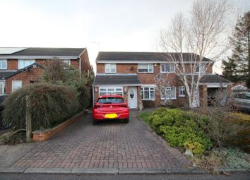 Thumbnail 3 bed semi-detached house for sale in Slingley Close, Seaham, Durham