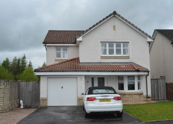 Thumbnail 4 bed detached house for sale in Burns Avenue, Larbert