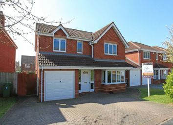 Thumbnail 4 bedroom detached house for sale in Hookacre Grove, Priorslee, Telford