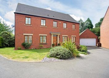 Thumbnail 5 bed detached house for sale in Sandy Hill Rise, Shirley, Solihull