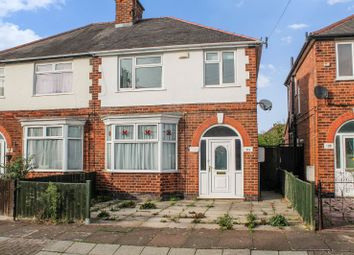 Thumbnail 3 bed semi-detached house for sale in Stanfell Road, Knighton, Leicester
