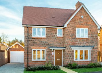 Thumbnail 4 bed detached house for sale in Lea Meadow, Sonning Common, Reading