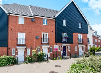 Thumbnail 3 bedroom town house for sale in Wagtail Drive, Stowmarket