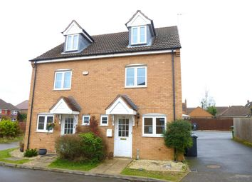 Thumbnail 3 bed property to rent in Dorset Close, Cawston, Rugby