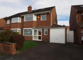 Thumbnail 5 bedroom semi-detached house to rent in Bayswater Road, Wallasey