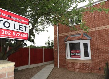 Thumbnail 3 bed semi-detached house to rent in Church Road, Stainforth, Doncaster
