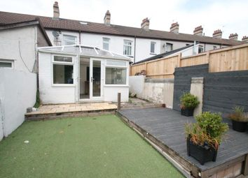 Thumbnail 3 bed terraced house for sale in Fair View, Pengham, Blackwood, Caerphilly Borough