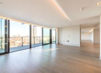 Thumbnail 3 bedroom flat to rent in Merano Residences, 30 Albert Embankment, London
