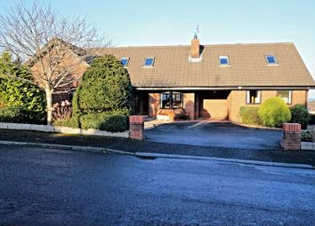 Thumbnail 4 bed detached house for sale in Bryansglen Avenue, Bangor
