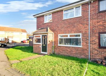 Thumbnail 4 bedroom semi-detached house for sale in Aldergrove Walk, Hornchurch, Essex