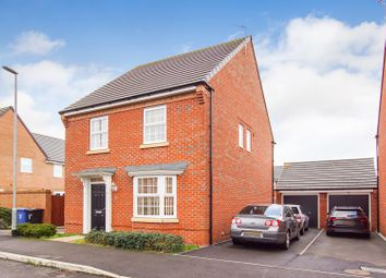 Thumbnail 4 bed detached house for sale in Newark Drive, Warrington