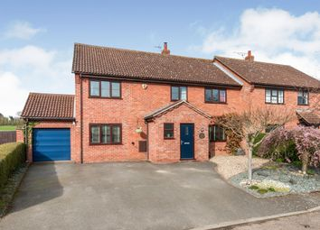 Thumbnail 4 bed semi-detached house for sale in Haughley New Street, Haughley, Stowmarket