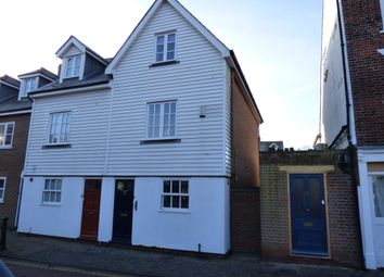 Thumbnail 4 bed terraced house to rent in West Street, Faversham