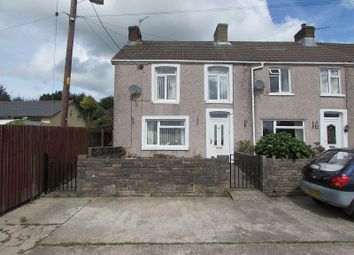 Thumbnail 3 bed end terrace house for sale in Greenfield Terrace, Heol Laethog, Bryncethin, Bridgend.