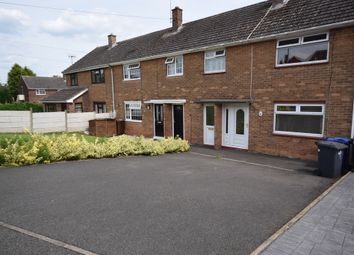Thumbnail 3 bed terraced house to rent in Hawthorn Crescent, Stapenhill, Burton-On-Trent