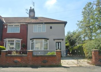 Thumbnail 3 bed end terrace house for sale in Ancroft Road, Huyton, Liverpool