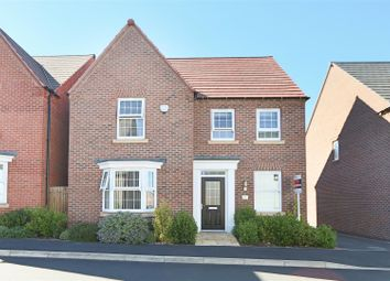 Thumbnail 4 bed detached house for sale in Paulina Avenue, Hucknall, Nottingham