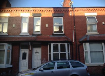 Thumbnail 3 bedroom terraced house to rent in Caythorpe Street, Moss Side, Manchester