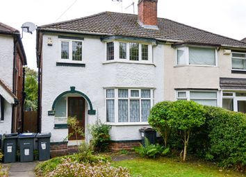 Thumbnail 3 bed semi-detached house to rent in Bristol Road South, Northfield, Birmingham