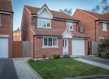Thumbnail 4 bedroom detached house for sale in Coupland Close, Selby