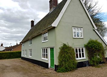 Thumbnail 3 bedroom cottage to rent in Low Road, Marlesford, Woodbridge