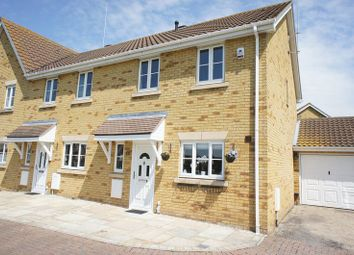 Thumbnail 3 bed end terrace house for sale in Heather Close, Canvey Island