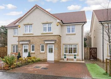 Thumbnail 3 bed semi-detached house for sale in Heron Drive, Broadwood, Cumbernauld, North Lanarkshire