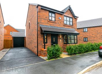 Thumbnail 3 bed detached house for sale in Crompton Way, Lowton, Warrington