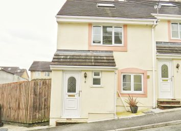 Thumbnail 3 bed end terrace house for sale in Brookingfield Close, Plympton, Plymouth