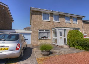 Thumbnail 3 bed semi-detached house for sale in Greely Road, Westerhope, Newcastle Upon Tyne