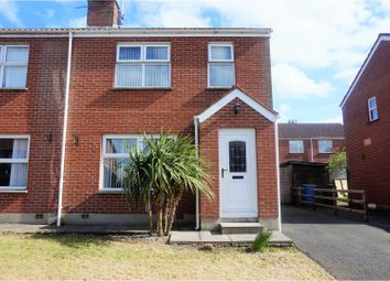 Thumbnail 3 bed semi-detached house for sale in Claremont Avenue, Moira