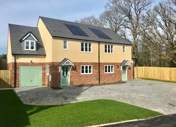 Thumbnail 3 bed semi-detached house for sale in Oakdene Place, Awbridge, Romsey