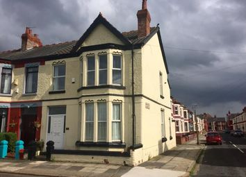 Thumbnail 4 bedroom end terrace house for sale in Grant Avenue, Wavertree, Liverpool