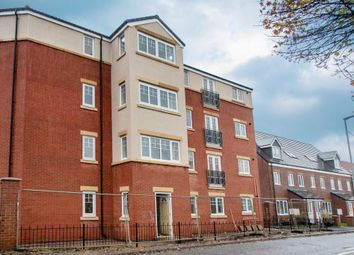 Thumbnail 2 bed flat to rent in Greenhaugh Court, Portland Park, Ashington