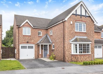 Thumbnail 4 bed detached house for sale in Sycamore Avenue, Eggborough, Goole