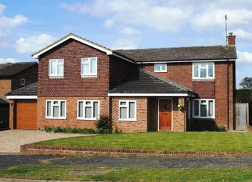 Thumbnail 5 bed detached house for sale in Franklin Avenue, Hartley Wintney, Hook