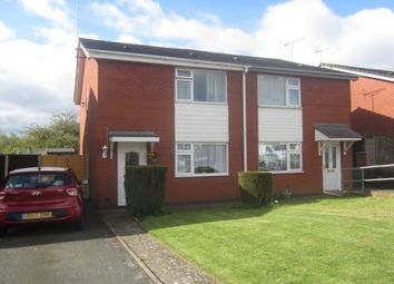 Thumbnail 2 bed semi-detached house for sale in Brook Close, Crewe