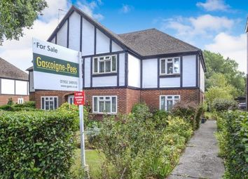 Thumbnail 2 bed maisonette for sale in Byfleet Road, New Haw, Surrey