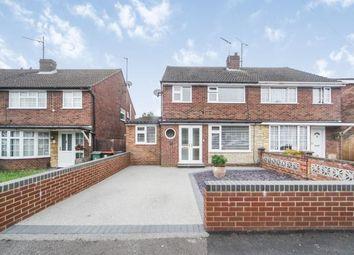 Thumbnail 3 bed semi-detached house for sale in St. Michaels Avenue, Houghton Regis, Dunstable, Bedfordshire