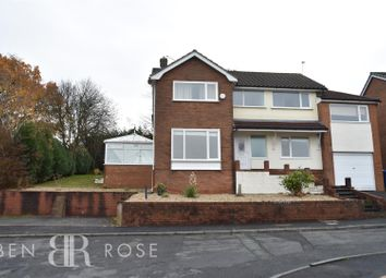 Thumbnail 4 bed detached house for sale in Cow Well Lane, Whittle-Le-Woods, Chorley