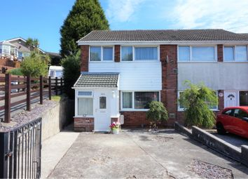 Thumbnail 3 bedroom end terrace house for sale in Carmarthen Road, Gendros