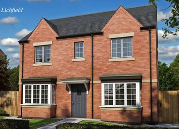 Thumbnail 3 bed semi-detached house for sale in Heritage Park, Tutbury, Burton-On-Trent